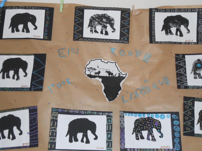 Projet AFRIQUE en maternelle