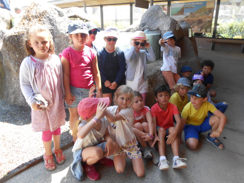 Les CP découvrent l'Aquarium de Trégastel