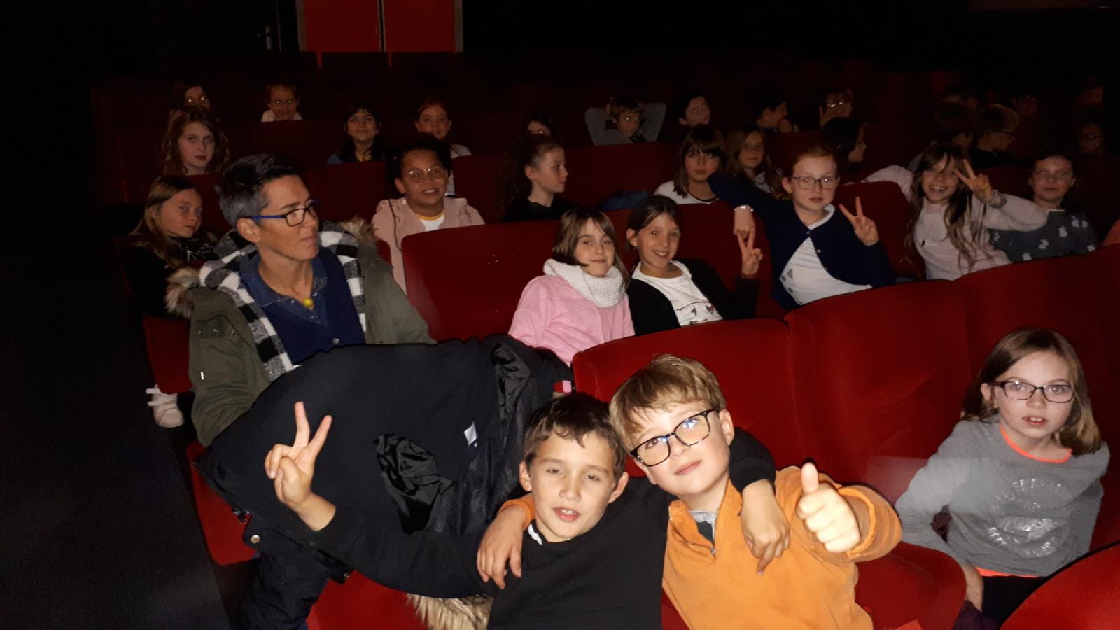 Les CE2/CM vont au cinéma