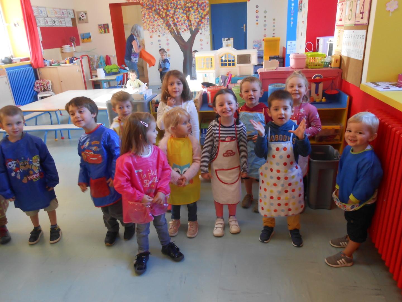 """Les ateliers """" cuisine """" en maternelle"""