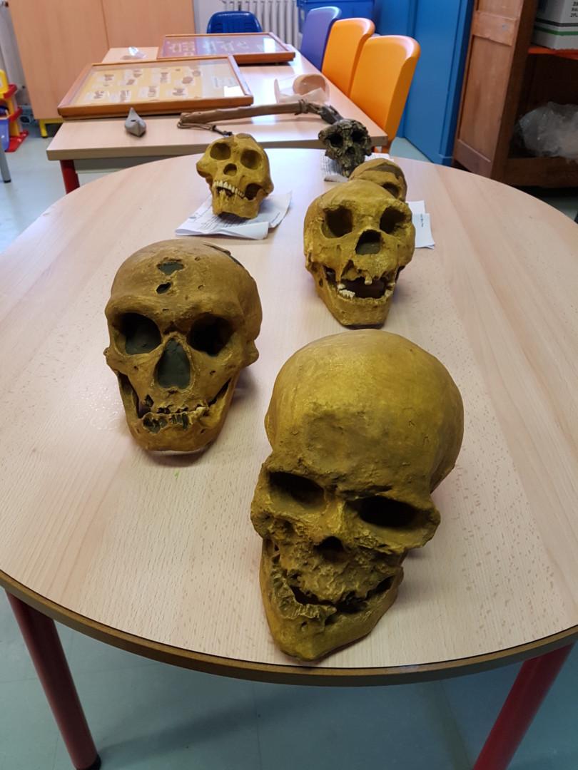 Intervention de Gilles CHEVALIER sur la préhistoire.