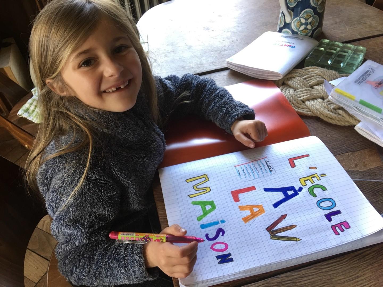 L'école à la maison … entre apprentissages et récréations !!!