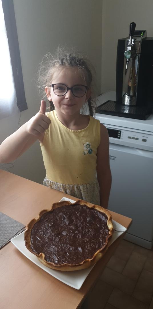 Entre la chasse aux oeufs de Pâques, la confection de la tarte au chocolat… les bricolageson ne s'ennuie pas