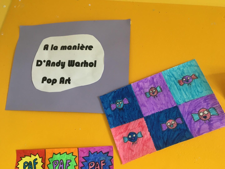 Le pop Art!