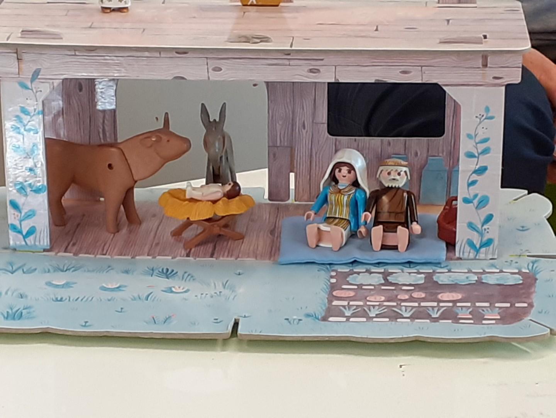 La Nativité racontée avec des Playmobil !