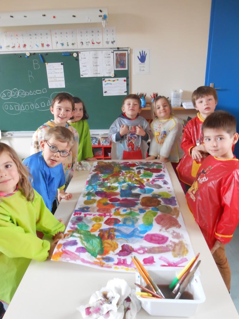 Les couleurs en maternelle