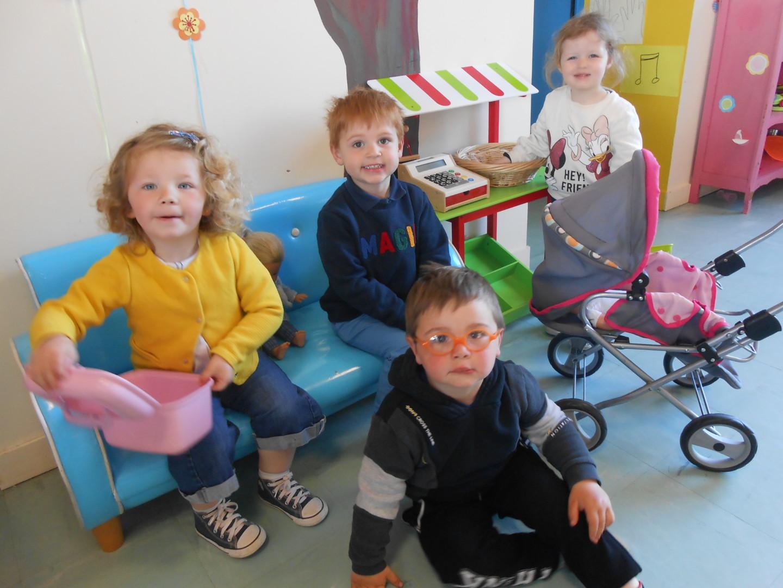 L'accueil du matin en maternelle